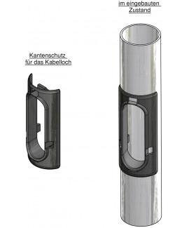 Kantenschutz für das Kabelloch 50 x 150 mm