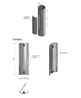 Ersatztüren aus Stahl für alle Maste 100 x 300